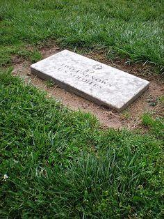 Unknown Soldiers grave at Yorktown National Cemetery, Yorktown, Virginia