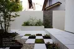 和風&洋風の坪庭