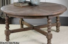 RUSTIC FRENCH COUNTRY FARM STYLE FURNITURE RECLAIMED WOOD COFFEE COCKTAIL TABLE  $714 42 W X 20 H X 42 D