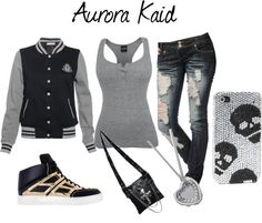 Pics For > Cute Skater Girl Outfits Polyvore