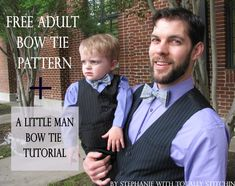 Free Bow Tie Pattern and Tutorial