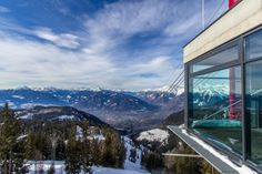 Awarded cable car station on top of Meran 2000 | Italy, South Tyrol