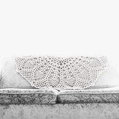 glory:  bespoke crochet doily blanket