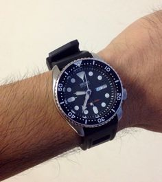 Seiko SKX007 on ISOFRANE Strap