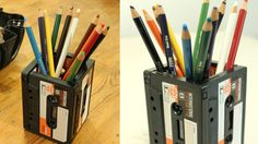A use for old cassette tapes