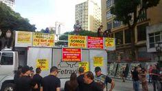 SOS PMERJ - DIGNIDADE JÁ!: Policiais e bombeiros protestam em Curitiba contra excessos nas corporações