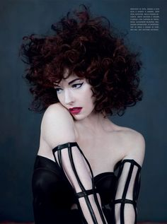 Torch Singer Chrysta Bell By Emma Summerton for Vogue Italia February 2013 As 'Swing With Me' - 3 Sensual Fashion Editorials Emma Summerton, Victorian Era Fashion, Hoop Skirt, Ordinary Girls, Beauty Shots, It Goes On, Pretty Face, Editorial Fashion, Curly Hair Styles