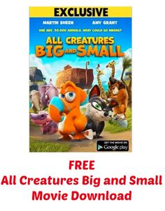 FREE All Creatures Big and Small Movie Download