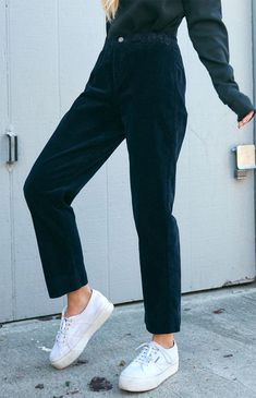 Pants & Capris Reliable 2018 New Fashion Hot Popular Women Casual Wide Leg Long Loose Trousers High Waisted Color Block Pants Durable In Use
