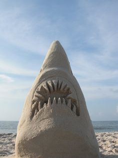 JAWS Sandcastle Sandcastles by Mike Bradley