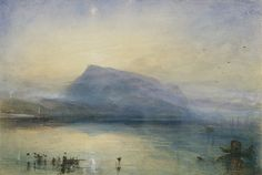 J. M. W. Turner: Painting Set Free February 24–May 24, 2015, GETTY CENTER The first major exhibition on the West Coast devoted to the masterful British painter