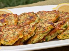 Zucchini Fritters from Once Upon a Chef - look fantastic and they're gluten-free!