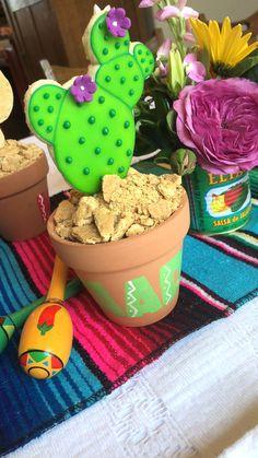 How to Throw a Fiesta Margarita Bar, Taco Bar, Great Recipes, Cactus, Place Cards, Cookies, Food, Cinco De Mayo, Fiestas