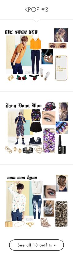 """""""KPOP #3"""" by itz-meh-liz on Polyvore featuring MANGO, Ted Baker, Converse, Atelier Swarovski, Cartier, BaubleBar, Urban Decay, Fendi, Boutique Moschino and Vans"""