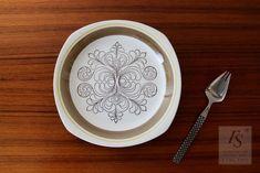 Gefle EK plate 18,5 cm - FourSeasons.fi Side Plates, Scandinavian, Mint, Ceramics, Tableware, Pattern, Ceramica, Pottery, Dinnerware