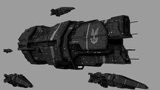 Spaceship Concept, Concept Ships, Concept Art, Halo Ships, Halo Armor, Heavy Cruiser, Advanced Warfare, Sci Fi Ships, Video Games Funny