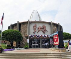 One of Gerry's favorite places: NFL Hall Of Fame