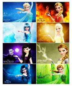 Disney should use this for a frozen TV series called the elements Disney Princess Memes, Disney Princess Pictures, Disney Princess Drawings, Disney Pictures, Disney Drawings, Disney Princess Zodiac, Disney Facts, Disney Quotes, Disney And Dreamworks