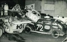 1960's Stock Cars...pit turn, Speedway Royale