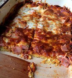 Hogy bezabáltam, atya isten... Pizza és cukkini- tócsni