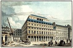 When Jefferson wasn't watching the building progress at  Hotel Slam, he liked to window shop at the Palais Royale in the same neighborhood.