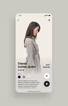 Fancy Fashion App UI Kit UI Place Fancy Fashion App UI Kit is a pack of delicate UI design screen templates that will help you to design clear user interfaces for fashion ecommerce shopping apps like Zara , ASOS or H&M faster and easier. Ios App Design, Mobile App Design, Design Android, Web Mobile, User Interface Design, Interface App, Design Typography, Logo Design, Design Poster