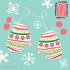 Day 12 - Oh baby its cold outside, make sure your wrapping up warm!