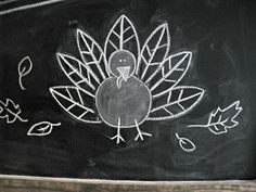 Thanksgiving Chalkboard - The Lilypad Cottage