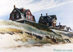 Edward Hopper: Cottages at Wellfleet