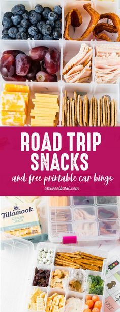 Check out the cool FREE PRINTABLE for car bingo and mess-free snack boxes filled with Farmstyle Thick Cut Sliced Cheese! Tell us in the comments how your family does the whole thing without fighting! Road Trip Outfit, Road Trip Packing, Road Trips, Road Trip Meals, Best Road Trip Snacks, Packing Tips, Bingo Camping, Auto Snacks, Kid Snacks