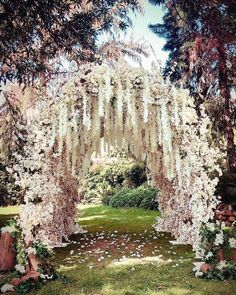 Perfect wedding - November Favorites Unique & Newage Decor Ideas for your Winter Wedding Wedding Ceremony, Our Wedding, Wedding Venues, Dream Wedding, Wedding Entrance, Wedding Unique, Wedding Scene, Wedding Country, Ceremony Arch