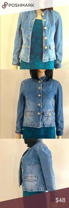 01afa113241 Anne Taylor LOFT size 0 Jean Jacket This denim blue jacket is in amazing  condition and