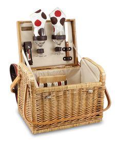 7746c399b Moka Kabrio Picnic For Two Set  zulilyfinds Wine Picnic