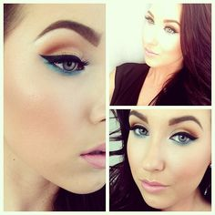 Yesterdays look. Another pop of color to greet the spring! Tutorial? It's an easy one! - @jaclynhill- #webstagram