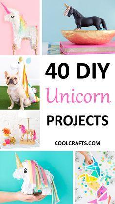 40 Majestic DIY Unicorn Craft Ideas   Coolcrafts.com