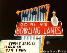 Do Ri Me Lanes (Removed) Richmond, Indiana Photo courtesy Steve FelderRoadside Peek : Neon Ten Pin Alleys Midwest 1