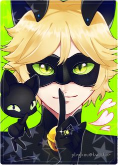 Shhh ! Don't reveal Adrien's secret Have you guys seen the show? It's super cute!! I absolutely love the animation in this show, and though it starts off slow, I like seeing the character dev...