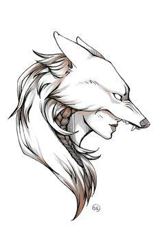 Snarl Framed Art Print by IonicArts - Left Handed Desk - Vector Black - Dark Art Drawings, Art Drawings Sketches Simple, Animal Sketches, Pencil Art Drawings, Animal Drawings, Cool Drawings, Cool Dragon Drawings, Fantasy Drawings, Tattoo Design Drawings
