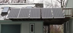 Here's some great information on a solar panel kit for homeowners