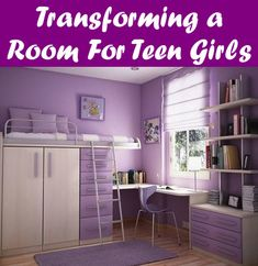 Best Teenage Bedroom Designs For Easy Doing Activities. Best Teenage Bedroom Designs comes with Minimalist Teenage Room Style Finish and Purple Chair Purple Kids Bedrooms, Girls Bedroom, Childrens Bedroom, Soccer Bedroom, Girls Canopy, Woman Bedroom, Teenage Girl Bedroom Designs, Teenage Room, Teenage Bedrooms