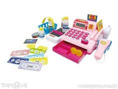 Just Like Home Cash Register Kong Toys, Little Chef, Toy R, Cash Register, Chefs