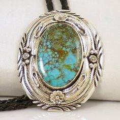 Bolo Tie with Royston Turquoise by Emerson Thompson