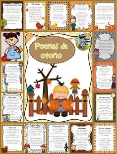 A collection of Fall poems (15) and (6) ideas on how to implement in your class. Poems are great for fluency and comprehension. This set is perfect for your poe