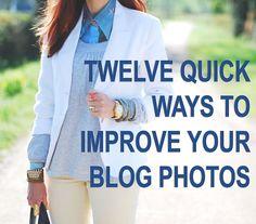 Photo Tips Friday: 12 Quick Ways to Improve Your Blog Photos