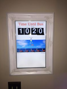 Raspberry Pi Framed Informational Display - Google Calendar, Weather, and More.. - Imgur