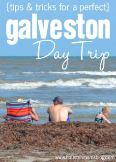 Galveston Day Trip {Tips & Tricks}. Use the link for a Staycation. Texas Vacations, Texas Roadtrip, Texas Travel, Dream Vacations, Vacation Spots, Vacation Ideas, Family Vacations, Usa Travel, Beach Fun