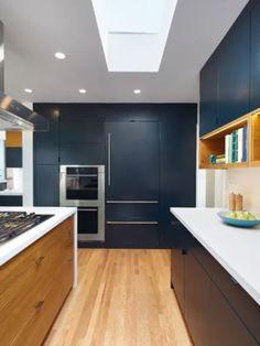 Essa cozinha integra