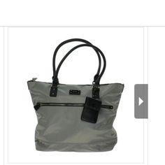"Selling this ""NINE WEST Gray Contrast Trim Lined Purse Handbag"" in my Poshmark closet! My username is: carirangel. #shopmycloset #poshmark #fashion #shopping #style #forsale #Nine West #Handbags"