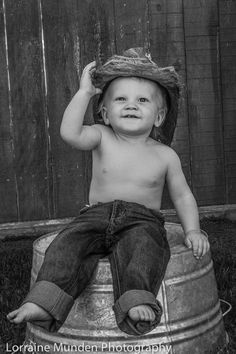 Little cowboys first birthday.  Photoshoot for the little boys first birthday.