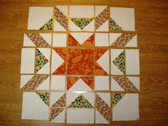 Happy Quilting: Introducing Starburst - A Tutorial and Giveaway!!